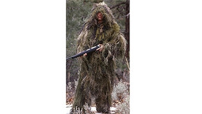 Ultralight Ghillie Jacket and Pants Kit - Woodland - M/L