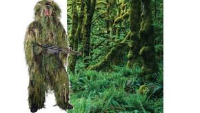 SALE! Ghillie Sniper Camouflage Suit - Woodland Camo - XL/2XL