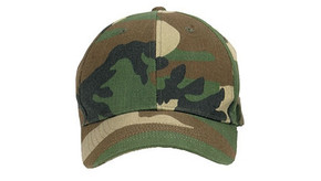 Low Profile Ball Cap - Woodland Camo