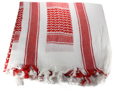 Lightweight Shemagh Tactical Scarf - Red/White