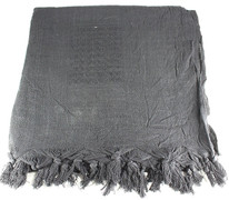 Lightweight Shemagh Tactical Scarf - Solid Black
