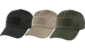 Low Profile Patch Cap - Black