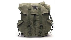 Rothco Retro Star Vintage Backpack