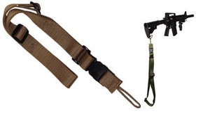 SALE! Single Point Tactical Sling - Coyote Tan