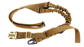 Military Supply Universal Single Point Poly Sling - Coyote