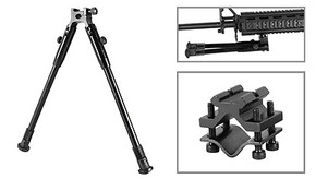 NcSTAR ABWT Streamline Bipod w/ Weaver Quick Release - Full-Size
