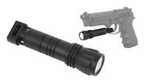 NcSTAR APFS LED Pistol Flashlight w/ Mount