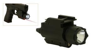 NcSTAR AQPFLS Flashlight w/Laser - Weaver Quick Release