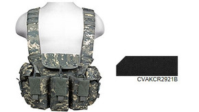 NcSTAR Vism AK Chest Rig (cvakcr2921b) - Black