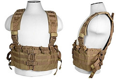 NcSTAR Vism AR Chest Rig (cvarcr2922t) - Tan