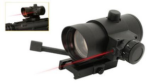 NcSTAR DLB140R Tactical Red Dot Sight with Laser