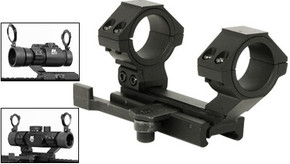 SALE! NcSTAR Cantilever Scope Mount w/ Detachable Ring