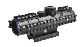 NcSTAR Sniper 2-7x32mm Compact Scope w/Rail System