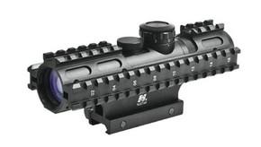 NcSTAR Sniper 3-9x42mm P4 Illum. Scope w/Rail System