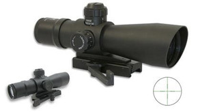 NcSTAR Sniper 4x32 Mil-Dot Scope - w/ Quick Release