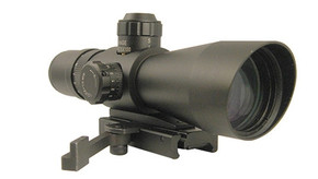 NcSTAR Sniper 4x32 P4 Sniper Scope - w/ Quick Release
