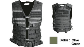 NcSTAR Molle/Pals Vest (cpv2915g) - Olive Drab