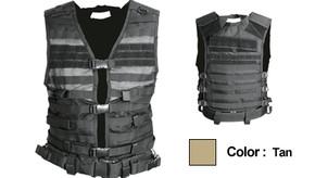 NcSTAR Molle/Pals Vest (cpv2915t) - Tan