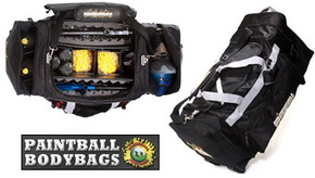 Paintball BodyBags MEGA Gear Bag - Black