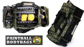 Paintball BodyBags MEGA Gear Bag - LTD Camo