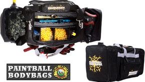 Paintball BodyBags SUPER Gear Bag - Black