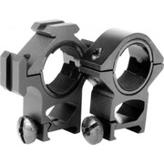 Aim Sports 30mm Scope Rings w/ Tri-Rails - Weaver