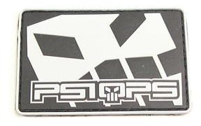 PSIOPS Patch - Black/White