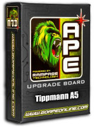 DISCONTINUED - SALE! APE Rampage Board - A5 E-Grip