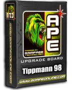 SALE! APE Rampage Board w/ Powershot - Pro E / 98 / Alpha Black