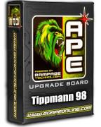 APE Rampage Board w/ Powershot - Pro E / 98 / Alpha Black
