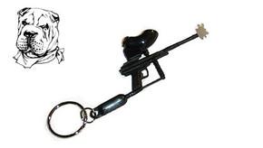 Rufus Dawg Mini-Marker Keychain - Black