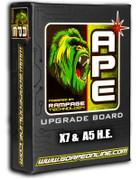APE Rampage Board - X7 E-Grip (A5 HE)