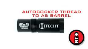 TechT Paintball iFIT - Autococker to A5 Adapter