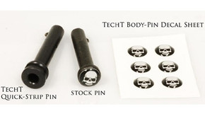 TechT Tippmann Body Pin Decal Set (6) - Skull
