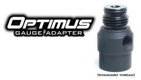TechT Optimus 360 Swivel Gauge Adapter - Black