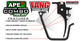 TechT Paintball Fang Trigger for APE Board - X7 Phenom