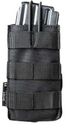 Tiberius Arms Single Open M4 Mag Pouch - Black