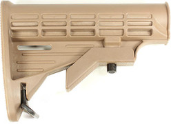Tiberius Arms Collapsible Stock End - Tan MR-4071