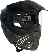 Tippmann Intrepid Goggle System - Black/Grey