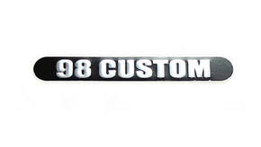98 Custom Name Plate - TA02007