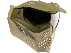 VForce Grill Paintball Goggles - Dual OD / Desert Tan