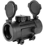 Aim Sports 1X42 Reflex Red Dot Sight w/Weaver Base/ Flip-Up Lens