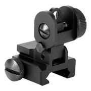 Aim Sports AR-15 / M16 A2 Rear Flip-Up Sight w/ Single Plane Dual Aperture
