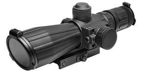NcSTAR SRT Series 3-9X42 Red Laser/Blue Ill./Rangefinder/Green Lens Scope
