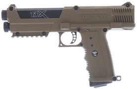 $30 REBATE! Tippmann TiPX (TPX) Paintball Pistol - Dark Earth