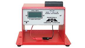 Custom Chrono Red Chronograph Station