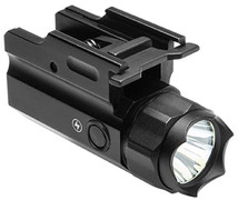 NcSTAR 3W 150 Lumen LED Flashlight Quick Release Mount w/Strobe