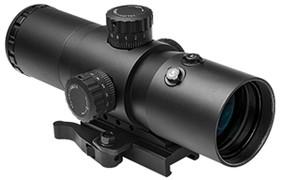 NcSTAR VISM CBT Series 3.5X40mm Mil-Dot w/Red laser Scope