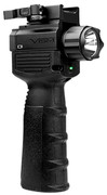 NcSTAR VISM Vertical Grip w/LED Flashlight/Green Laser