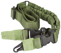 Aim Sports Two Or One Point Bungee Sling - Green